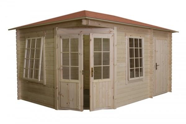 Gartenhaus Modell 4355, 303 x 443cm