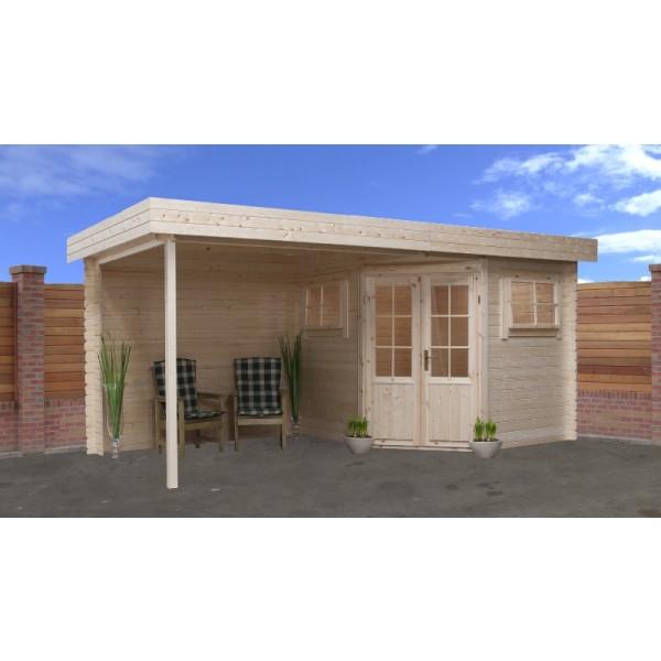 gartenhaus modell 2556z 250 x 500cm flachdach peters wiebe gbr. Black Bedroom Furniture Sets. Home Design Ideas