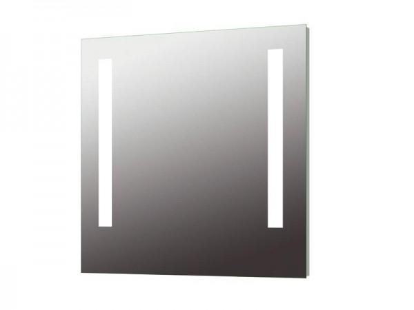 Wandspiegel hinterleuchtet 800 x 800 mm Serie Kristall