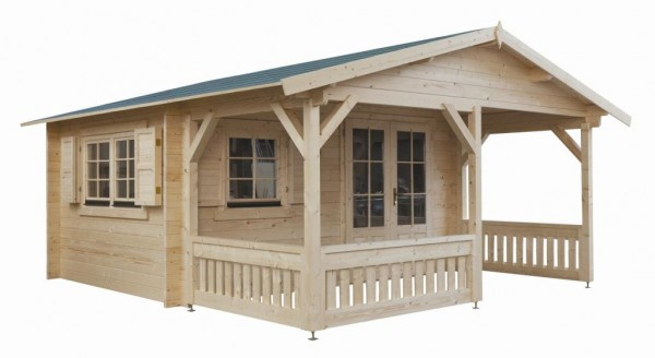 Gartenhaus Modell 5x4+2