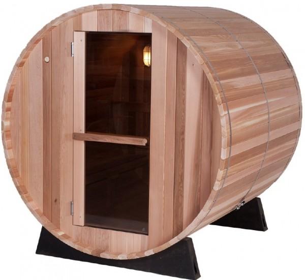 Fassauna für 4 Personen, 35 mm Zedernholz