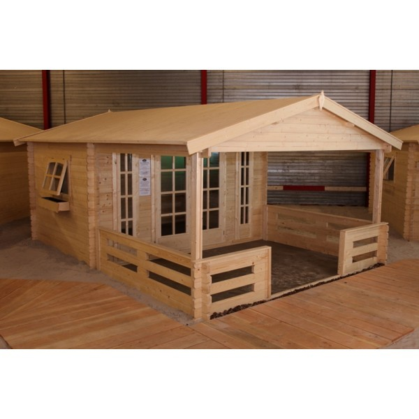 Gartenhaus Modell 3830, 380 x 580cm