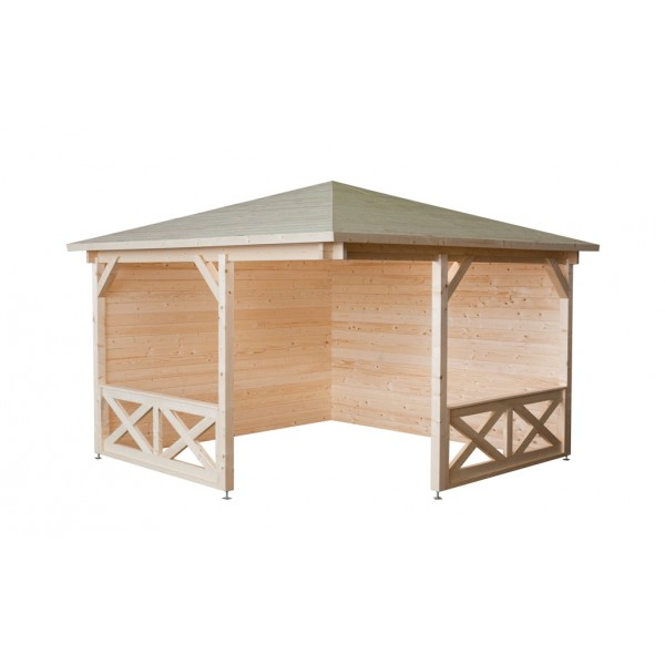 Pavillon modell p cm holzstärke mm