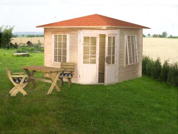 Gartenhaus Modell 3555, 350 x 350cm