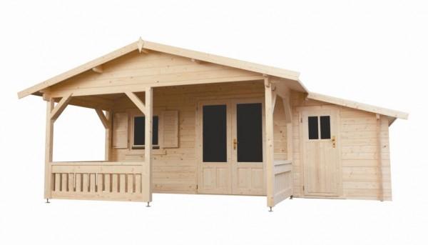 Gartenhaus Modell 5x4+3Z