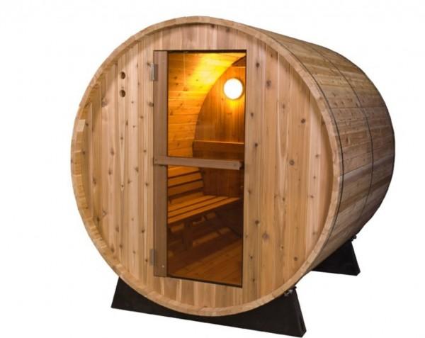 Fass-Sauna, 35 mm Zedernholz