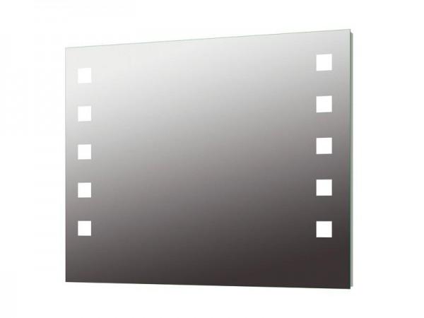 Wandspiegel hinterleuchtet 1000 x 800 mm Serie Diamant