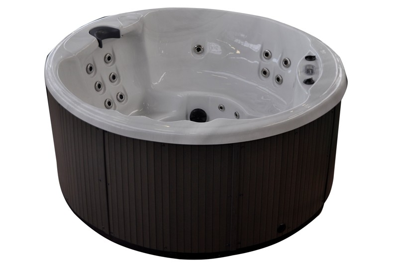 Whirlpool outdoor rund  Außenpool Whirlpool Glance Spa Outdoor Pool bis 5 Pers. | Peters ...