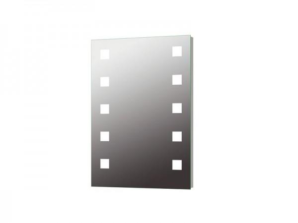 Wandspiegel hinterleuchtet 500 x 700 mm Serie Diamant