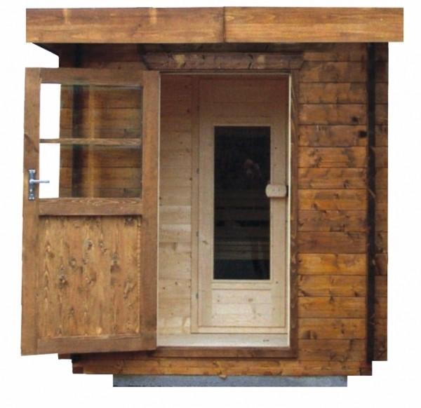 Sauna Modell 2128 M, 50 mm Wandstärke