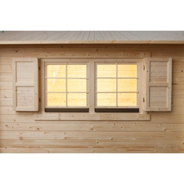 Fensterläden für Doppelfenster