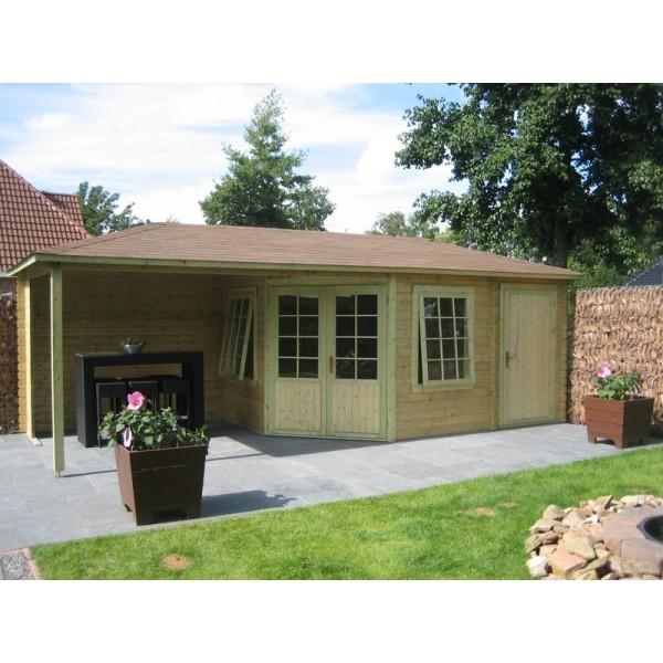 Gartenhaus Modell 4355Z, 714 x 300 cm