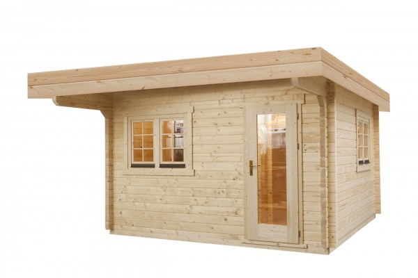 Sauna Modell 3940 M, 70 mm Wandstärke