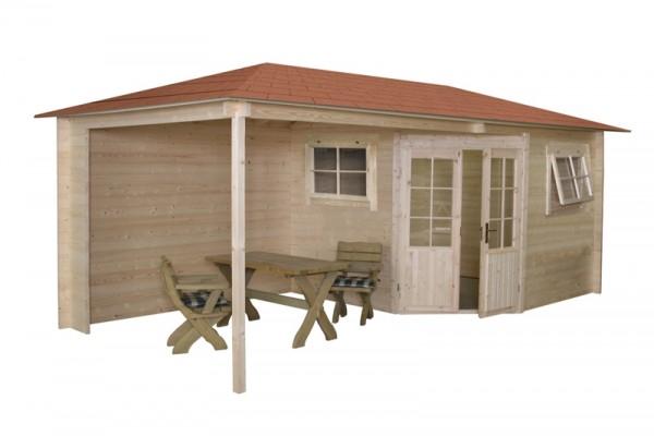 Gartenhaus Modell 2555Z 500 x 250 cm